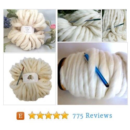 Super Chunky Yarn, Giant Yarn, Super- THICK #etsy @colorwayssmoosh https://www.SharePicVideo.com/?ref=PostPicVideoToTwitter-colorwayssmoosh #etsy #PromoteEtsy #PictureVideo @SharePicVideo