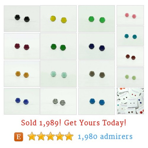 4mm - 6mm - 8mm Studs Etsy shop #etsy @biesge  #etsy #PromoteEtsy #PictureVideo @SharePicVideo