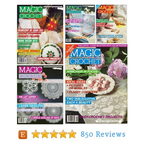 Magic Crochet from 1990's Pick the Number #etsy @patternnook  #etsy #PromoteEtsy #PictureVideo @SharePicVideo
