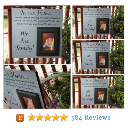 Family rules - Ready to ship - Picture #etsy @frameyourstory  #etsy #PromoteEtsy #PictureVideo @SharePicVideo