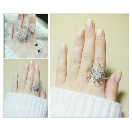 Flower wire ring @geotsavd25 #shopify  #shopify #PromoteStore #PictureVideo @SharePicVideo