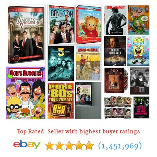 Standard DVDs Great deals from @blowitoutahere  #ebay  #ebay #PromoteEbay #PictureVideo @SharePicVideo