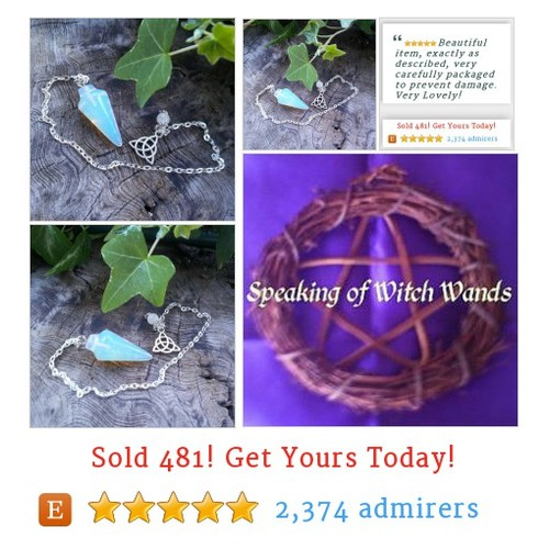 Opalite Dowsing Pendulum #Home #Living #Religion #etsy @SpeakingofWytch https://SharePicVideo.com?ref=PostVideoToTwitter-SpeakingofWytch #etsy #PromoteEtsy #PictureVideo @SharePicVideo