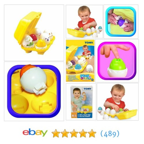 Baby Shape Sorter Toy Squeaking Eggs Infant Activity Learning Kids #ebay @homegoodsplus https://www.SharePicVideo.com/?ref=PostPicVideoToTwitter-homegoodsplus #etsy #PromoteEbay #PictureVideo @SharePicVideo