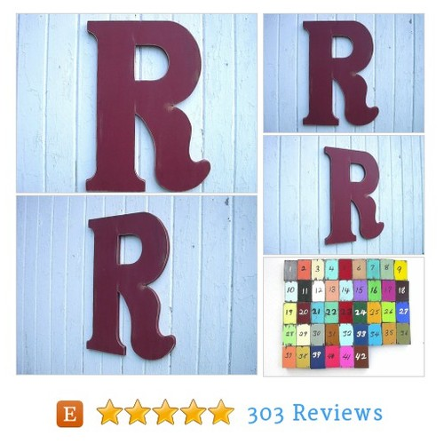 Wooden Letters Large 24 inch R Distressed #etsy @lettersofwood https://www.SharePicVideo.com/?ref=PostPicVideoToTwitter-lettersofwood #etsy #PromoteEtsy #PictureVideo @SharePicVideo