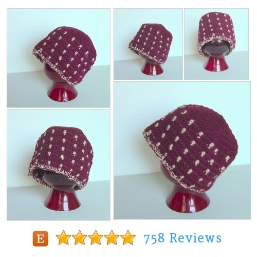 Clearance Sale Beanie, Polka Dot Beanie, #etsy @hahnmade  #etsy #PromoteEtsy #PictureVideo @SharePicVideo