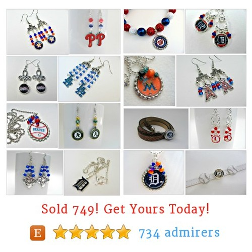 Pro Baseball Teams Etsy shop #etsy @fanwearjewelry  #etsy #PromoteEtsy #PictureVideo @SharePicVideo