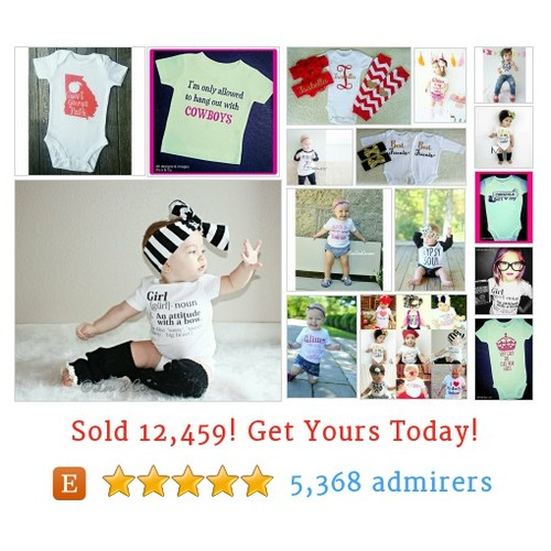 Girl Bodysuits / Shirts Etsy shop #shirt #girlbodysuit #etsy @liv_and_co  #etsy #PromoteEtsy #PictureVideo @SharePicVideo