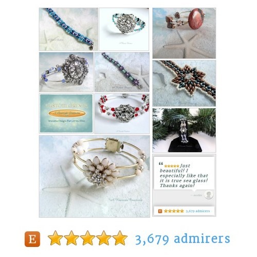 Beaded Bracelets - Your Custom Handmade Jewelry Resource by ARexrodeCreations Etsy shop #BeadedBracelet #fashion #etsy #PromoteEtsy #PictureVideo @SharePicVideo