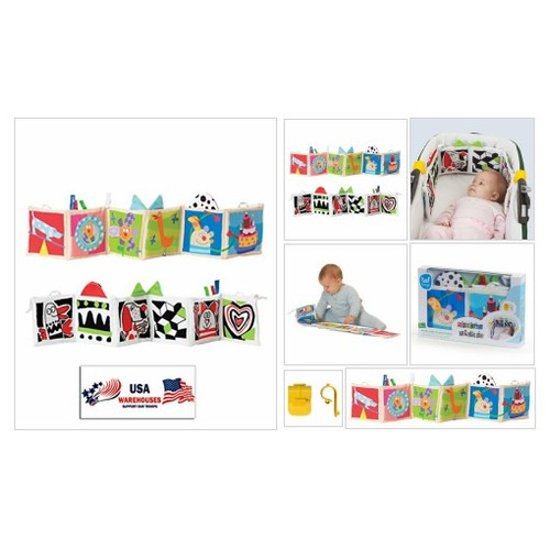 #Entertainment $and# Development (Kooky Clip-on Carriage or Crib Book) #socialselling #PromoteStore #PictureVideo @SharePicVideo