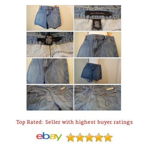 Calvin Klein Women's Shorts Size 12 Blue Jean Denim Pockets Spring Summer Fun  eBay #Short #CalvinKlein #CasualShort #etsy #PromoteEbay #PictureVideo @SharePicVideo