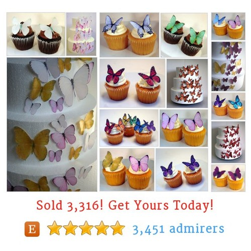 Edible Butterflies Etsy shop #ediblebutterfly #etsy @smashcandies  #etsy #PromoteEtsy #PictureVideo @SharePicVideo