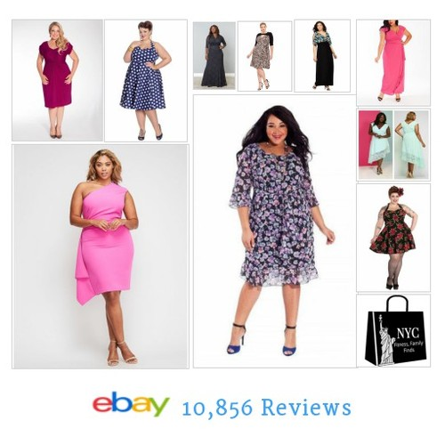 Dresses, #dresses it's all about #PlusSize dresses. Awesome styles matched by awesome #savings. We shop NYC for u! #ebay #PromoteEbay #PictureVideo @SharePicVideo