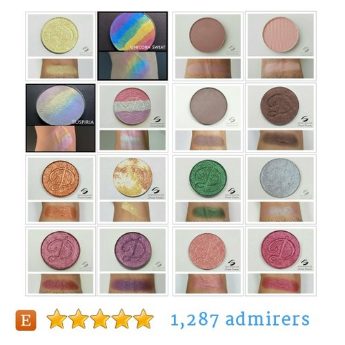 Eyeshadows, Highlighters by DevinahCosmetics Etsy @devinahcosmetic  #etsy #PromoteEtsy #PictureVideo @SharePicVideo