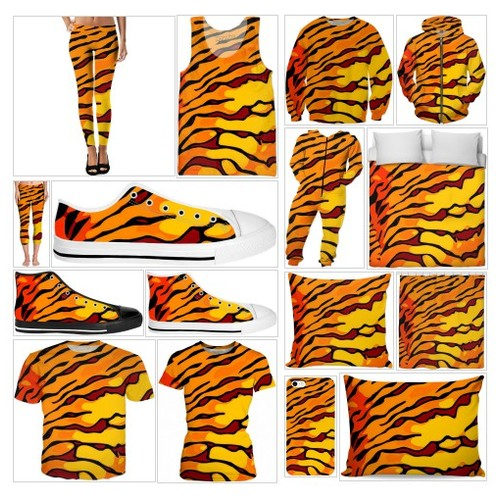 Tigerlicious Animal Print Collection #socialselling #PromoteStore #PictureVideo @SharePicVideo