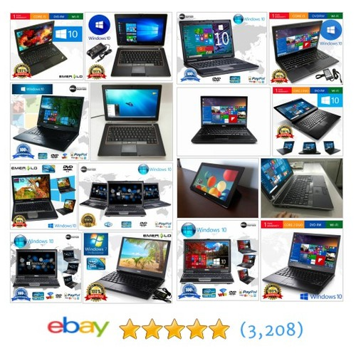 Laptops Great deals from ECT DATA Computer Laptop Services  @askectdata #ebay  #ebay #PromoteEbay #PictureVideo @SharePicVideo