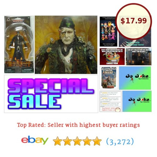 DISNEY-P.O.C.--BOOTSTRAP BILL TURNER-Stellan John Skarsgård-ARTICULATED-NEW-RARE | eBay #DISNEYSTORE #etsy #PromoteEbay #PictureVideo @SharePicVideo