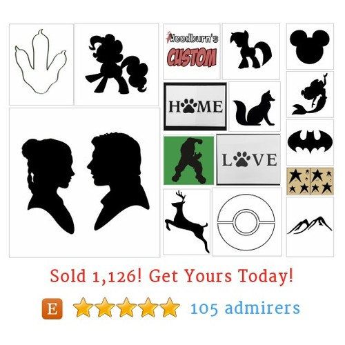 Other Stencils Etsy shop #etsy @woodburnsne  #etsy #PromoteEtsy #PictureVideo @SharePicVideo