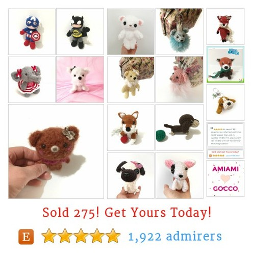 Kawaii handmade Amigurumi and crochet accessories by AmiAmiGocco #etsy shop @MaikoSucich https://SharePicVideo.com?ref=PostVideoToTwitter-MaikoSucich #etsy #PromoteEtsy #PictureVideo @SharePicVideo