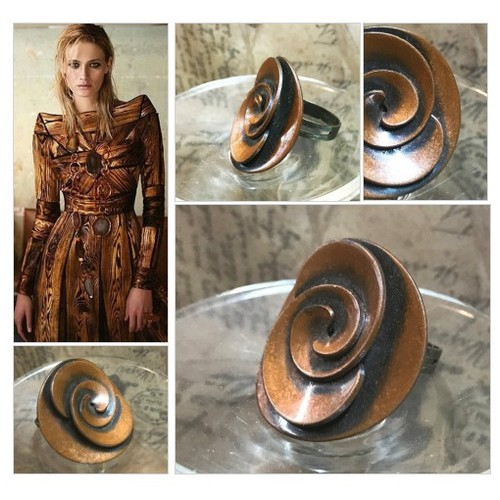 Copper Statement Ring Adjustable Upcycled Vintage Metal Button Ring Vintage Button Patina Copper Button Ring  #etsyspecialt #integritytt #SpecialTGIF #Specialtoo  #TMTinsta      @RTFAMDNR    @FatalRTs   @SGH_RTs #etsy #PromoteEtsy #PictureVideo @SharePicVideo