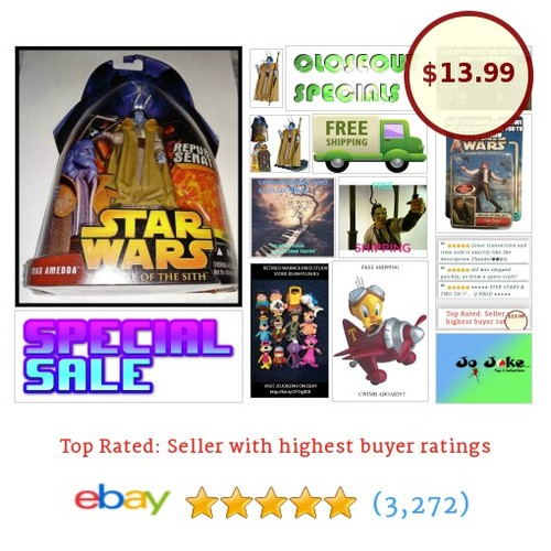 STAR WARS-ROTS-MAS AMEDDA-REPUBLIC SENATOR-DETAILED-2005-NEW-RARE #40-#HASBRO | eBay  #etsy #PromoteEbay #PictureVideo @SharePicVideo