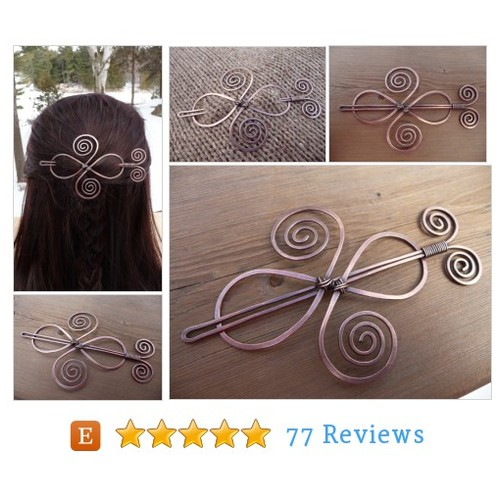hair #barrette with stick, hair slide #etsy @fancyyoudesigns  #etsy #PromoteEtsy #PictureVideo @SharePicVideo