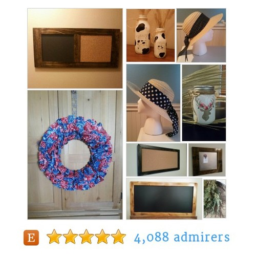 Rustic Decor, Fan Gear, Sun Hats, Jewelry by BrumbleBerryBoutique @Brumbleboutique - Updated tweet for u & scheduled #etsy #PromoteEtsy #PictureVideo @SharePicVideo