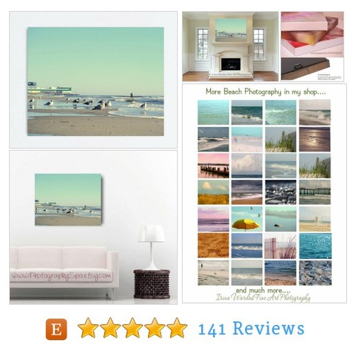 Large wall #art beach canvas art, Atlantic #etsy @naturephotospa  #etsy #PromoteEtsy #PictureVideo @SharePicVideo