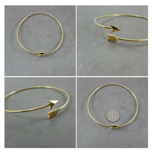 Arrow Gold Bracelet #socialselling #PromoteStore #PictureVideo @SharePicVideo
