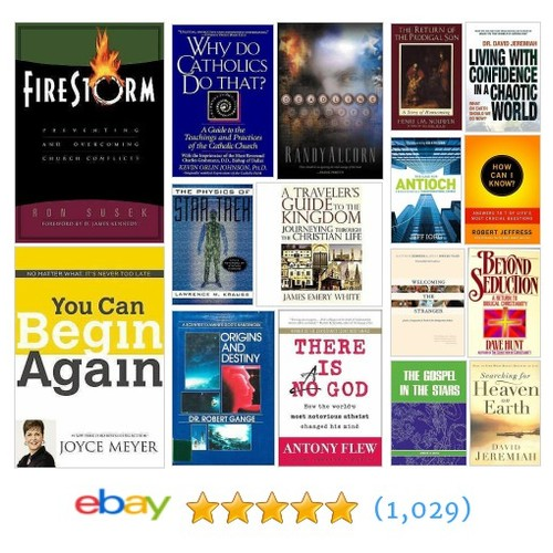 Popular Christian Items in alluringbooks store #ebay @johnshelley120  #ebay #PromoteEbay #PictureVideo @SharePicVideo