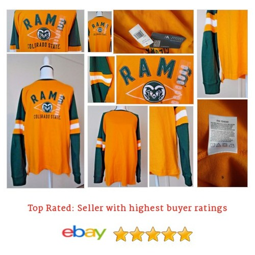 Colorado State Rams Long Sleeve Embroidered Shirt - KA Knights - Men's - L | eBay #KAknight #Souvenir #FanApparel #etsy #PromoteEbay #PictureVideo @SharePicVideo