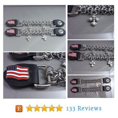 American Flag and Cross Chainmaille Vest #etsy @ringeddesigns https://www.SharePicVideo.com/?ref=PostPicVideoToTwitter-ringeddesigns #etsy #PromoteEtsy #PictureVideo @SharePicVideo