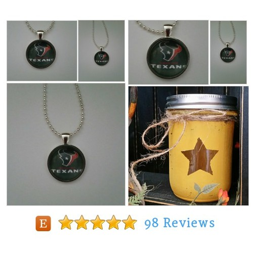 "Houston Football necklace 24"" silver plated #etsy @brumbleboutique  #etsy #PromoteEtsy #PictureVideo @SharePicVideo"