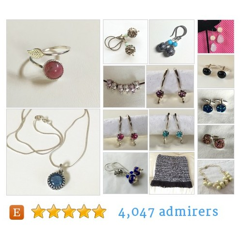 OOAK Jewelry Knit Crochet and Vintage Items by @MarschallHeidi  #etsy #PromoteEtsy #PictureVideo @SharePicVideo