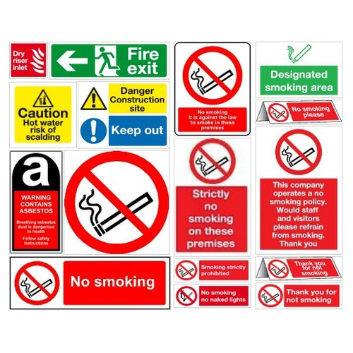 No Smoking sign | Prohibition health & safety signs | Sign supplier #shopify @mjnsafetysigns  #socialselling #PromoteStore #PictureVideo @SharePicVideo