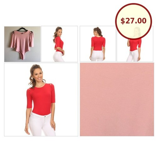 🆕 BLUSHING Lace-up shoulder blush bodysuit @fattwallet https://www.SharePicVideo.com/?ref=PostPicVideoToTwitter-fattwallet #socialselling #PromoteStore #PictureVideo @SharePicVideo