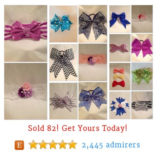 Hairbows Etsy shop #etsy @debbiewomack1 https://www.SharePicVideo.com/?ref=PostPicVideoToTwitter-debbiewomack1 #etsy #PromoteEtsy #PictureVideo @SharePicVideo