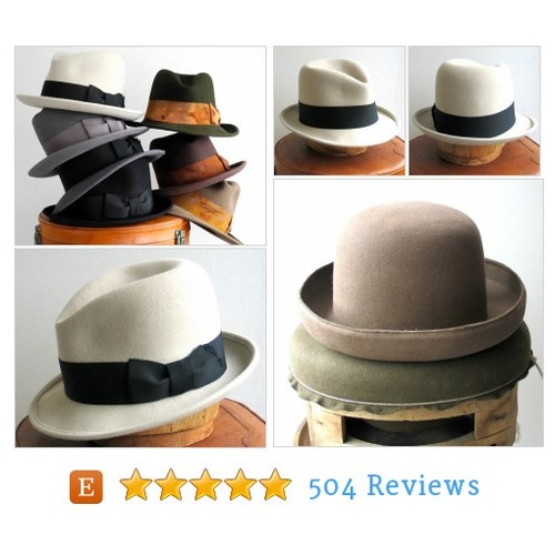 Gift for Him Men's Gift Mens Felt Fedora #etsy @katarinahats  #etsy #PromoteEtsy #PictureVideo @SharePicVideo