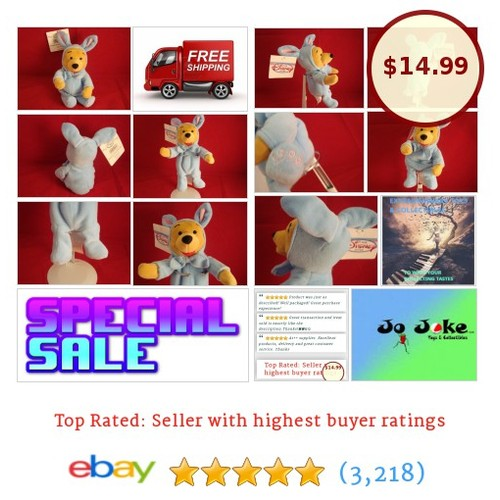 DISNEY-WINNIE THE POOH-EASTER BUNNY-8 INCH-CUTE-BEAN PLUSH-DISNEY STORE-NEW/TAGS | eBay #DISNEYCLASSICSSTOREEXCLUSIfe #etsy #PromoteEbay #PictureVideo @SharePicVideo