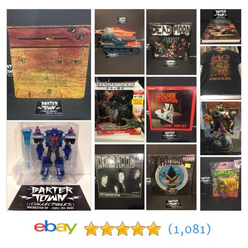 All Categories Items in bartertown collectibles store  #ebay @bartertowncolle #sellonebay  #ebay #PromoteEbay #PictureVideo @SharePicVideo