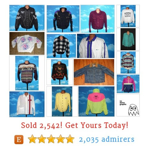 VTG Jackets / Sweaters Etsy shop #etsy #PromoteEtsy #PictureVideo @SharePicVideo