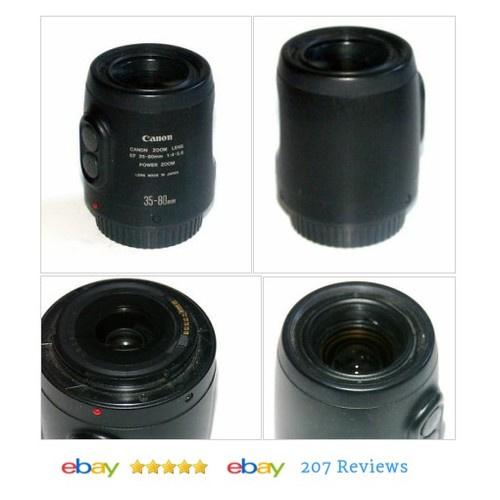 #Canon EF 35-80mm f4-5.6 Power Zoom Lens for Canon AF #Lense #Filter #etsy #PromoteEbay #PictureVideo @SharePicVideo