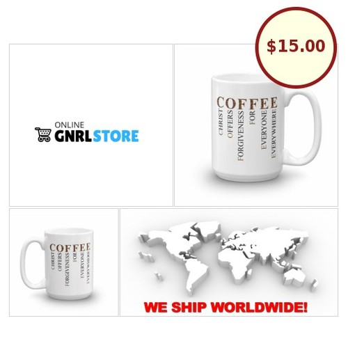 #Christian #Christians #Christianity #Jesus Gift ideas - #Coffee Cup #OnlineGNRLSTORE #etsy #PromoteEbay #PictureVideo @SharePicVideo