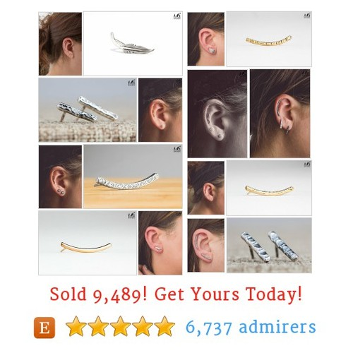 Ear Climbers & Piercings Etsy shop #etsy @mgmetalsmith  #etsy #PromoteEtsy #PictureVideo @SharePicVideo