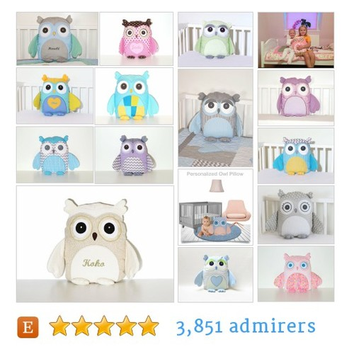 Owl Pillows #etsy shop #owlpillow @chinook_design  #etsy #PromoteEtsy #PictureVideo @SharePicVideo