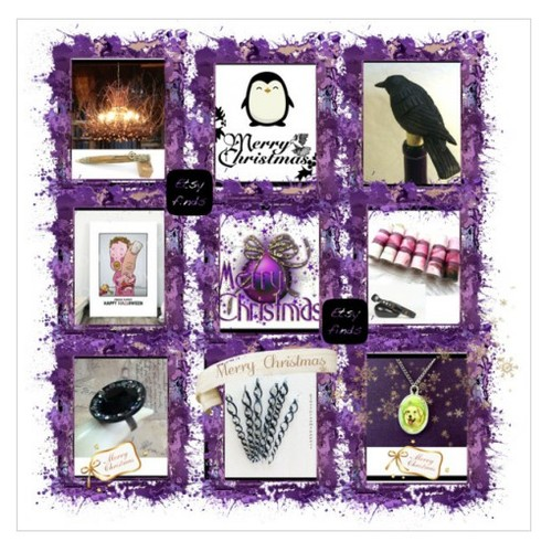 Black and Purple Merry Christmas #EtsySpecialT #IntegrityTT #TIntegrityT #EtsyTeamUNITY #shopsmallbusiness #gifts #socialselling #PromoteStore #PictureVideo @SharePicVideo