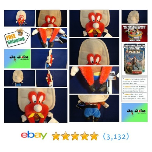 WARNER BROS STUDIO STORES-YOSEMITE SAM BEAN PLUSH-BIG HAT-MUSTACHE-1998-NEW/TAGS | eBay #WARNERBROSSTUDIOSTORE #etsy #PromoteEbay #PictureVideo @SharePicVideo