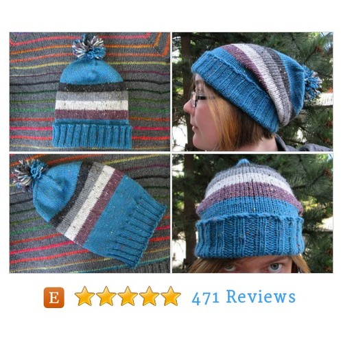 Knit Pride Hat - Ace Pride - Teal Wool #etsy @spacebotstudio  #etsy #PromoteEtsy #PictureVideo @SharePicVideo