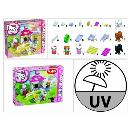 Amazon.com: Big 57012 Hello Kitty Bricks Big Bloxx Ponystable Unico set with 41 pieces: Toys & Games #socialselling #PromoteStore #PictureVideo @SharePicVideo