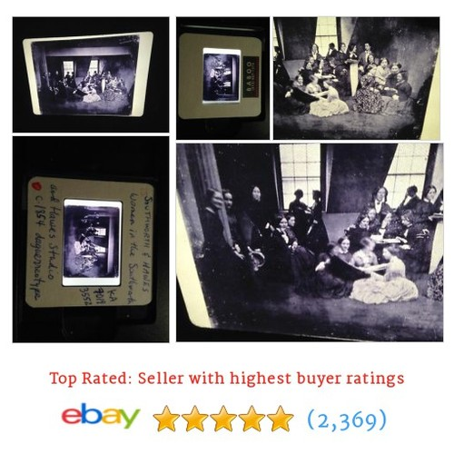 "Southworth & Hawes ""Women In Studio"" Early Photography #ebay @35mmslides  #etsy #PromoteEbay #PictureVideo @SharePicVideo"